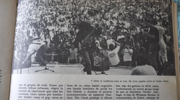 foto concierto carlos vieco medellin rock 90
