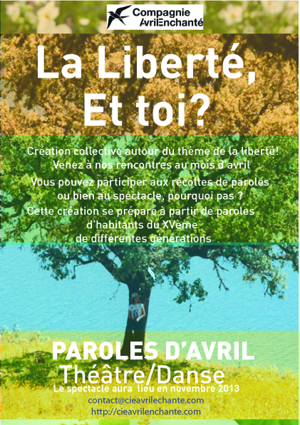 paroles d-avril Liberte arbre clasique